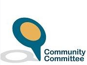 Community Committee logo showing we work with the council.