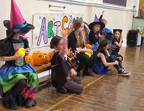 Halloween fancy dress fun at kids holiday camp in Leeds!