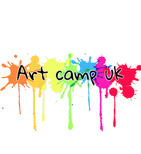 Art camp logo of our holiday camp in Leeds